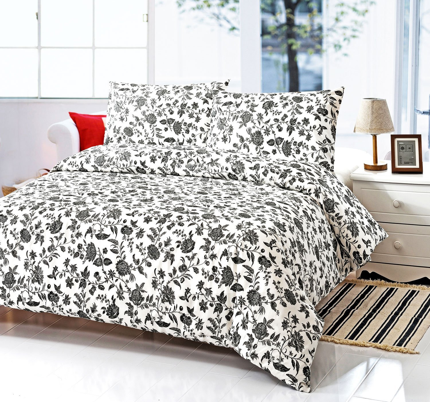 Floral Duvet Covers | White Duvet Cover Queen | Duvet Covers King