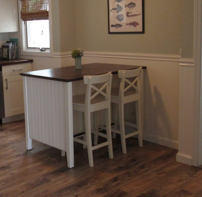 Free Standing Islands For Kitchens | Belmont Kitchen Island White | Stenstorp Kitchen Island