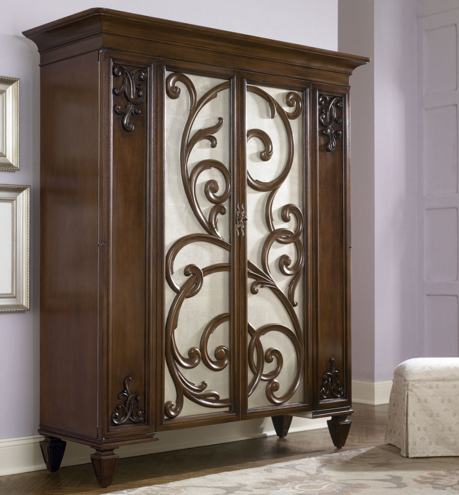 Freestanding Closet | Armoire Furniture | Mirrored Wardrobe