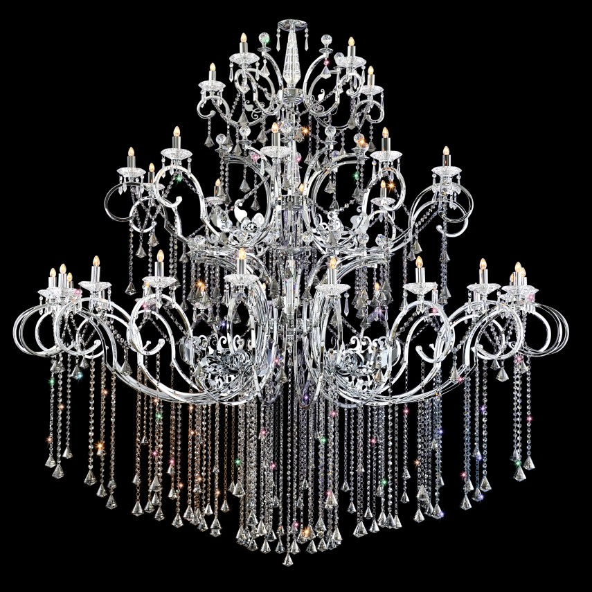 French Empire Crystal Chandelier | Chandelier Crystals | Crystal Dome Chandelier