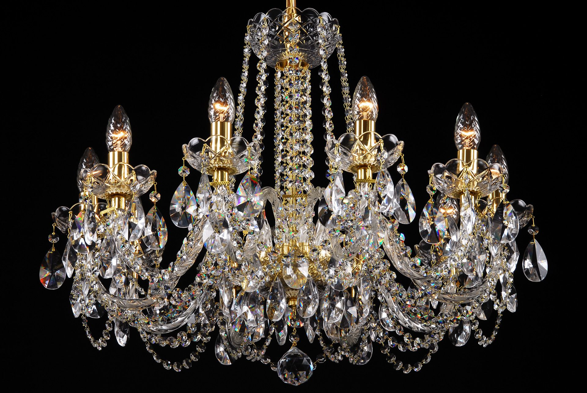 French Empire Crystal Chandelier | Replacement Crystals for Chandelier | Chandelier Crystals