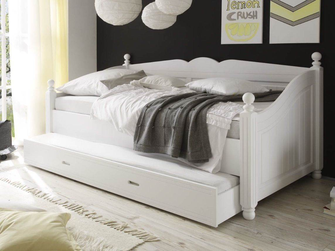 Full Daybed White Size Ikea With Trundle Day Bed Frame