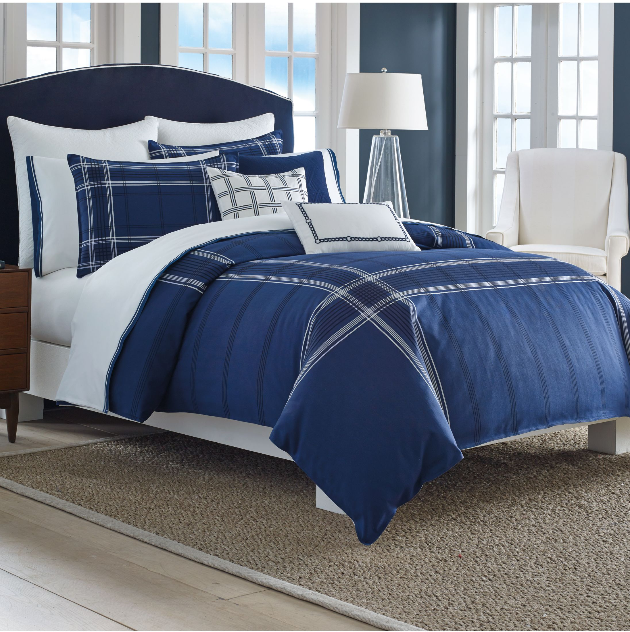Blue bedspreads and comforters - Full Size Comforter Twin Comforter Navy Blue Comforter
