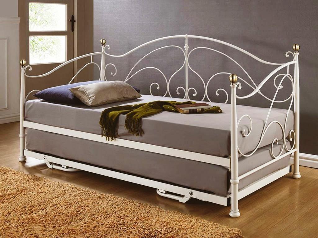 Full Size Daybed with Pop Up Trundle | Pop Up Trundle Daybed | Full Size Daybed with Trundle