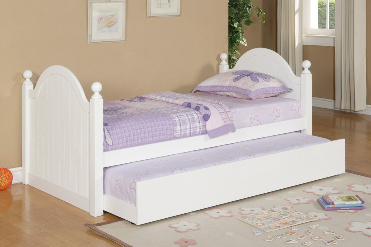 Full Size Daybed with Storage | Cheap Daybeds | Trundle Bed with Mattress Included