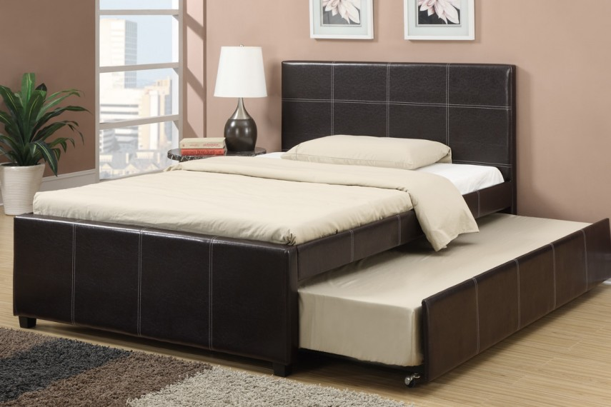 Full Size Daybed With Trundle | Day Bed Frame | Daybed With Trundle And Storage