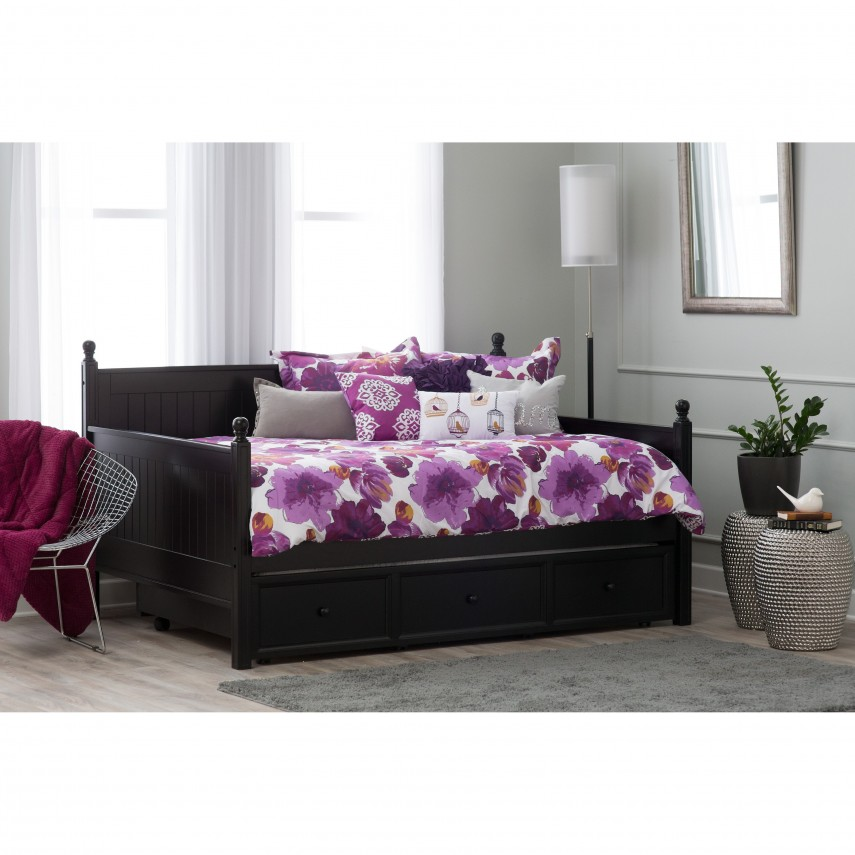 Full Size Daybed With Trundle   Daybed With Trundle   Daybed With Drawers
