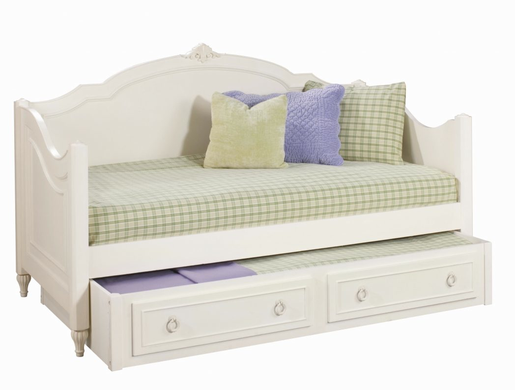 Full Size Daybed with Trundle | Full Size Trundle Bed Frame | Daybed with Drawers