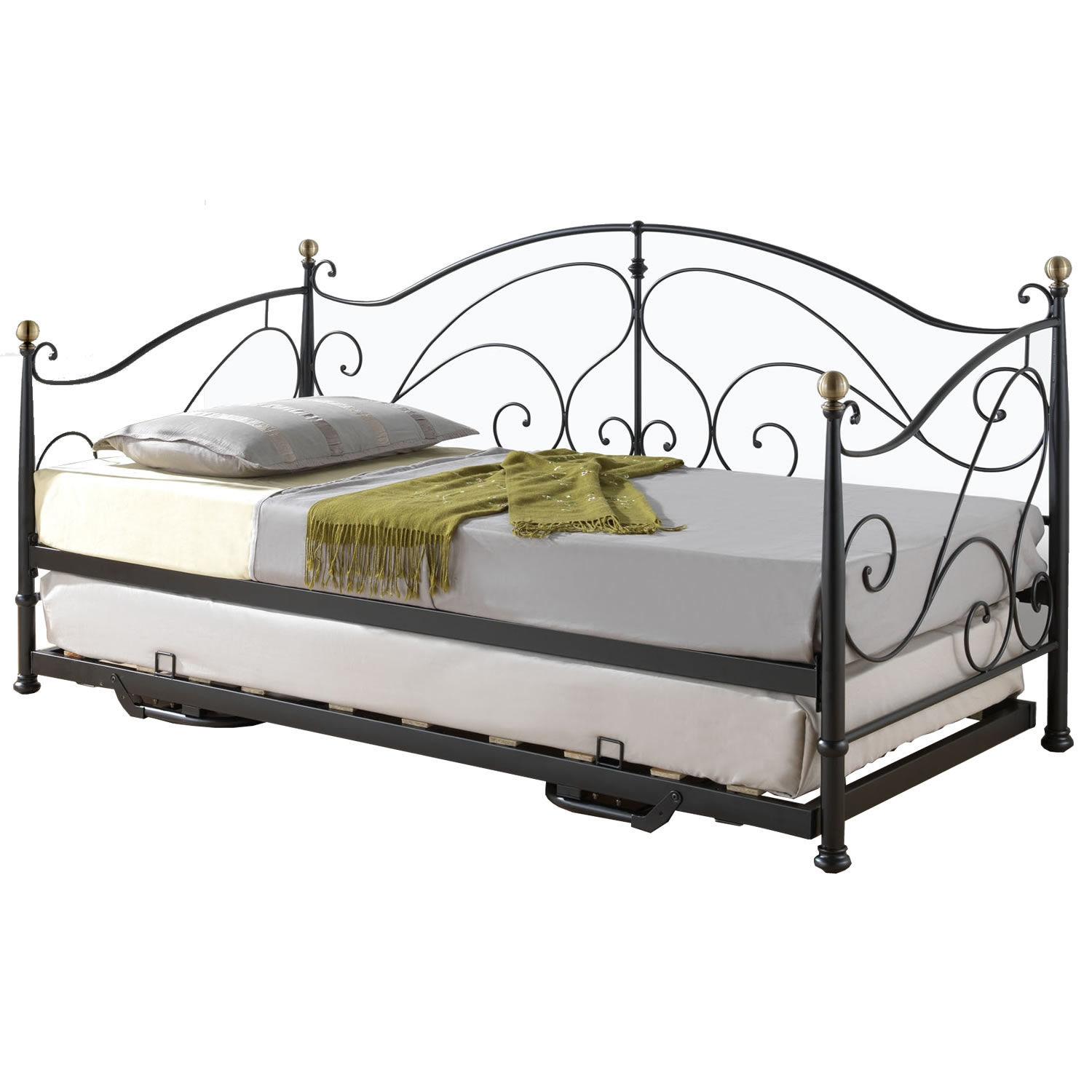 Full Size Daybed with Trundle | Full Size Trundle Beds for Adults | Twin Bed with Trundle