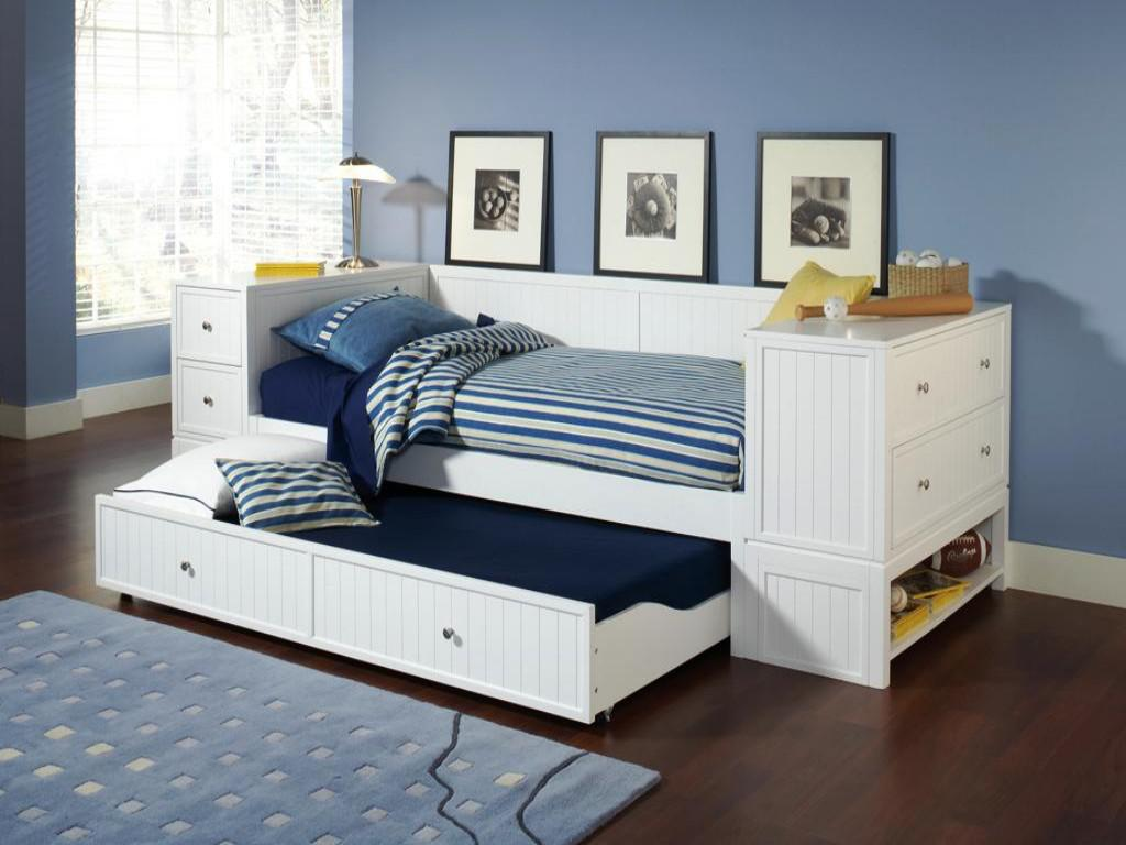 Full Size Daybed with Trundle | Modern Day Bed | Daybed with Trundle Bed