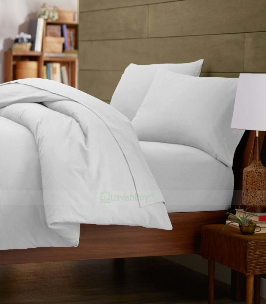 Full Size Duvet Covers | White Duvet Cover | Shabby Chic White Duvet Cover