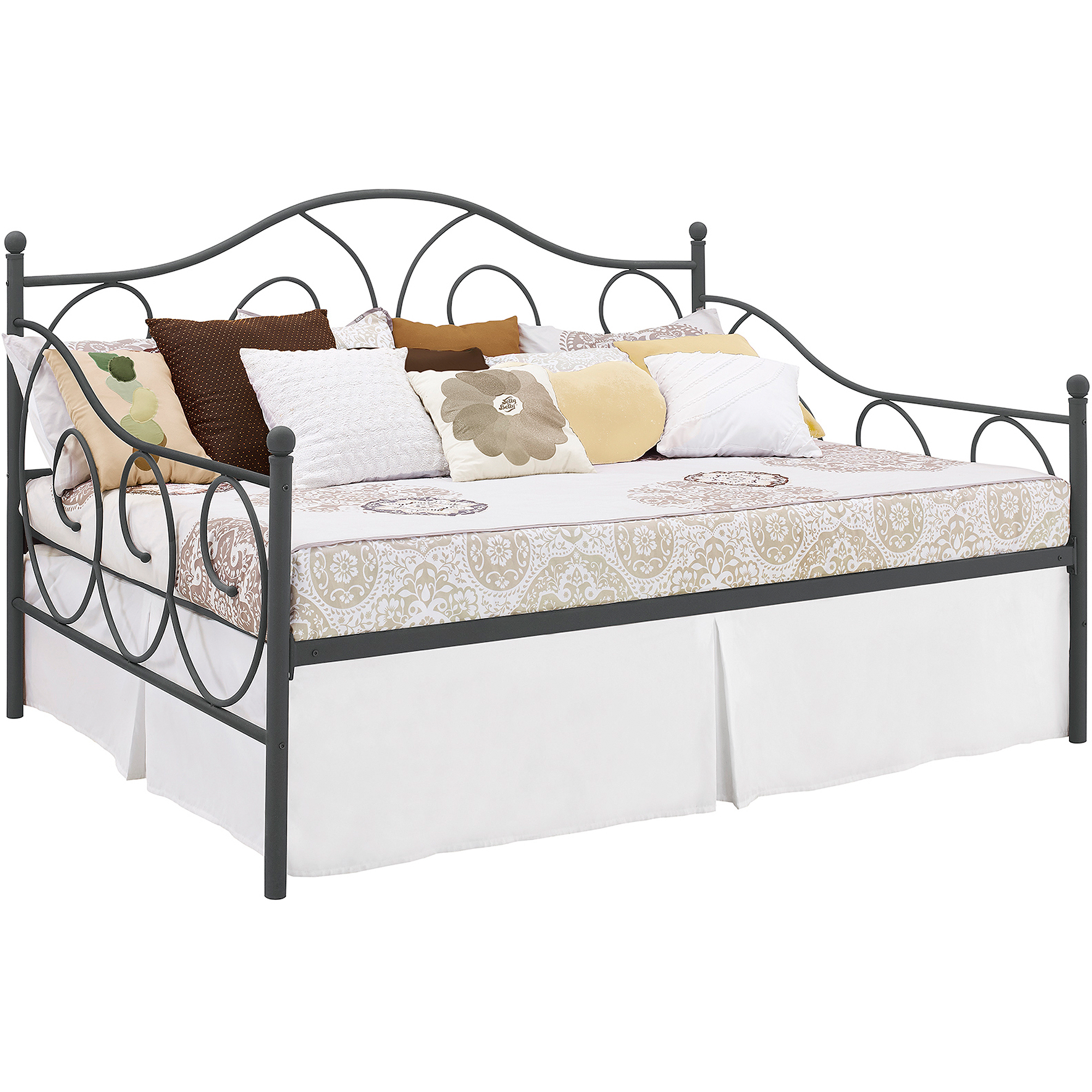 Full Size Trundle Bed Frame | Trundle Beds for Adults | Full Size Daybed with Trundle