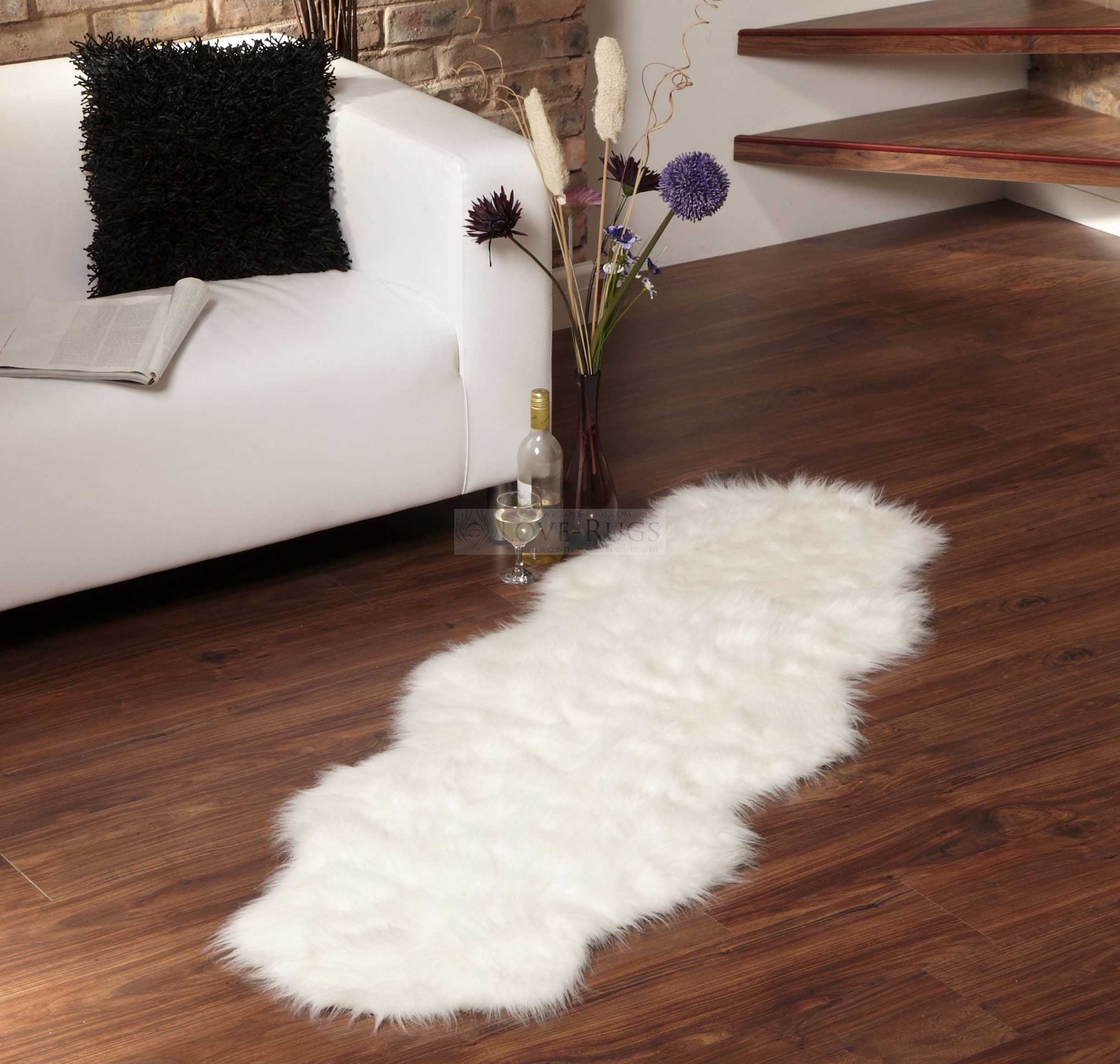 Fur Rug | Brown Fur Rug | Real Tiger Rug