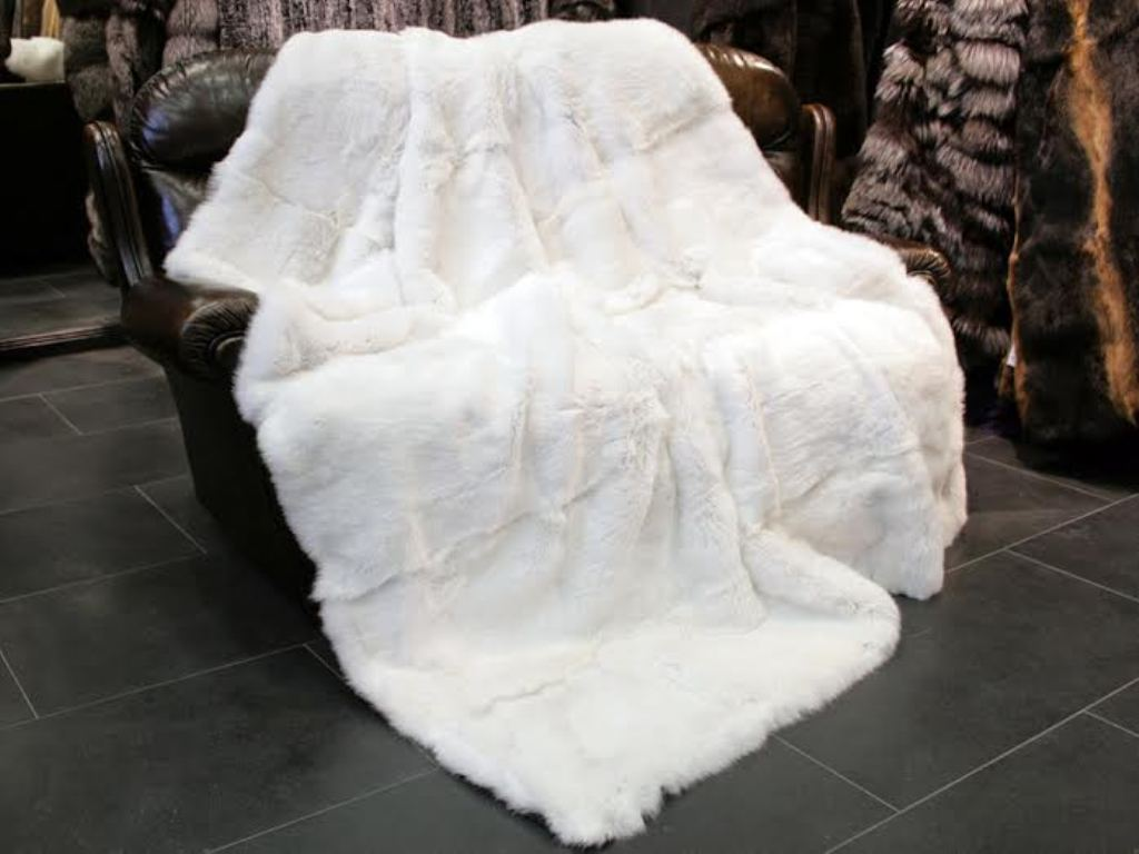 Fur Rug | Wolf Fur Rug | Sheep Rug