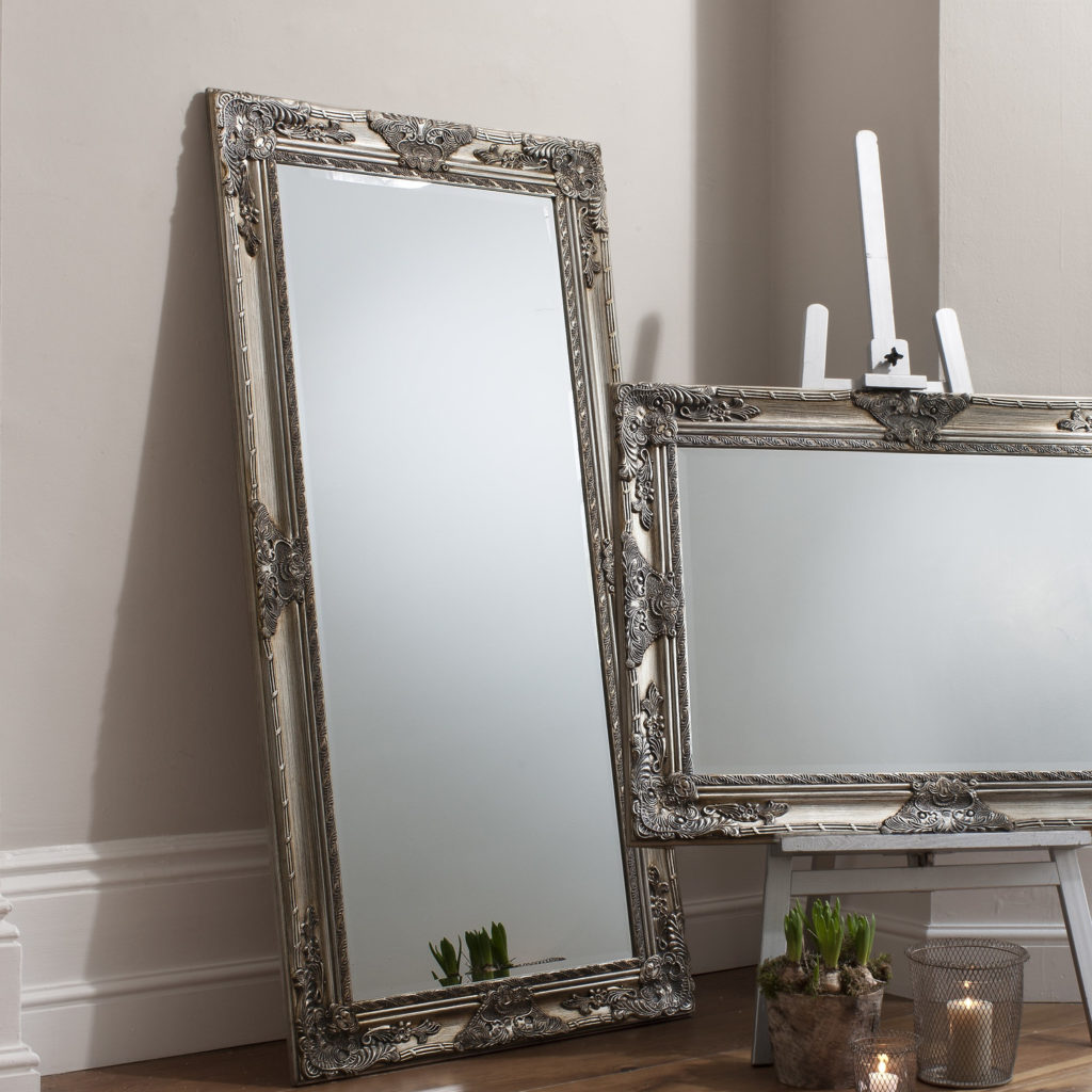 Oversized floor mirror cheap mirror stand plans wall full for Inexpensive framed mirrors