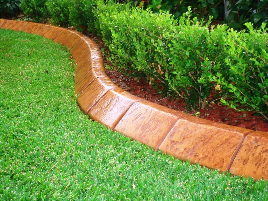 Garden Stone Edging | Home Depot Stones | Landscape Edging Ideas