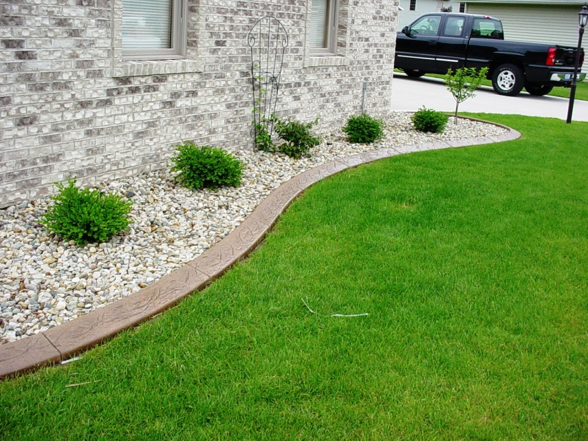 Garden Stone Edging | Landscape Edging Ideas | Brick Edging