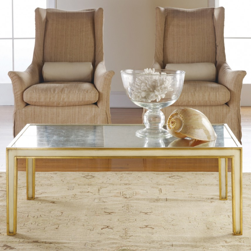 Glass And Wood Coffee Tables   Coffee Table Organizer   Mirrored Coffee Table