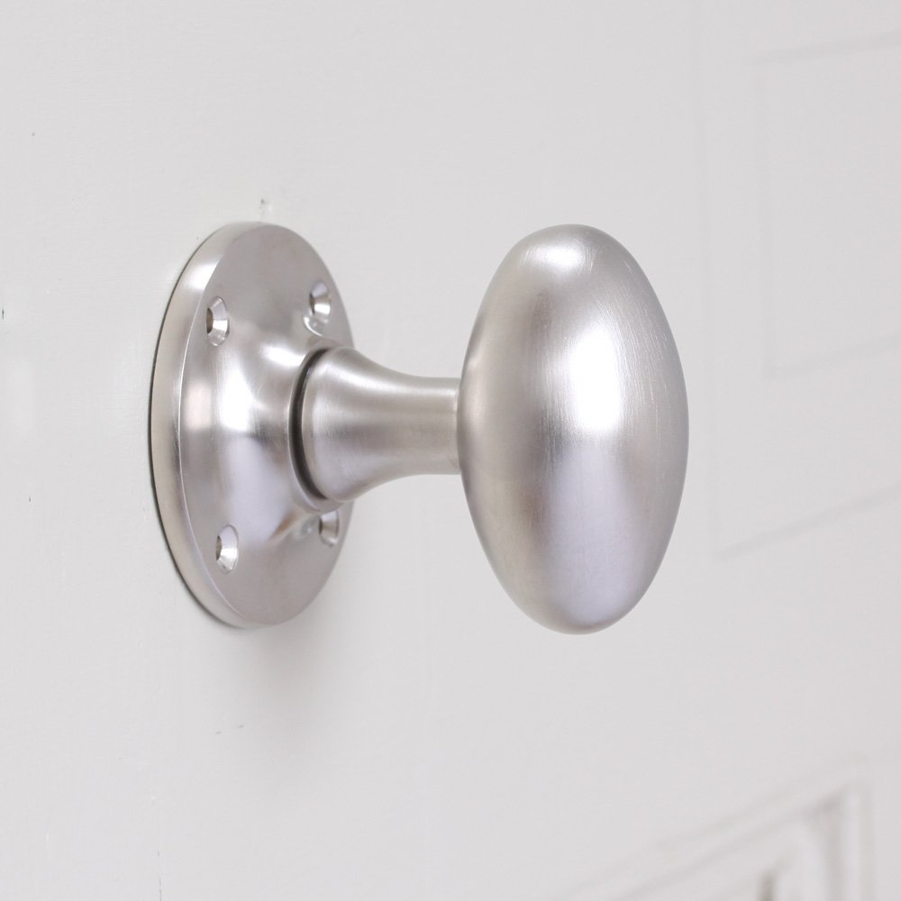 Glass Door Knobs | Brushed Nickel Door Knobs | Kwikset Brushed Nickel Door Knobs