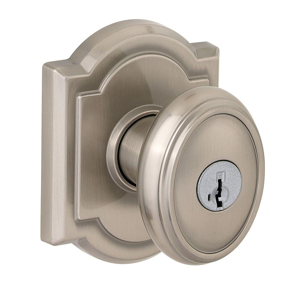 Glass Doorknobs | Brushed Nickel Door Knobs | Schlage Door Knobs