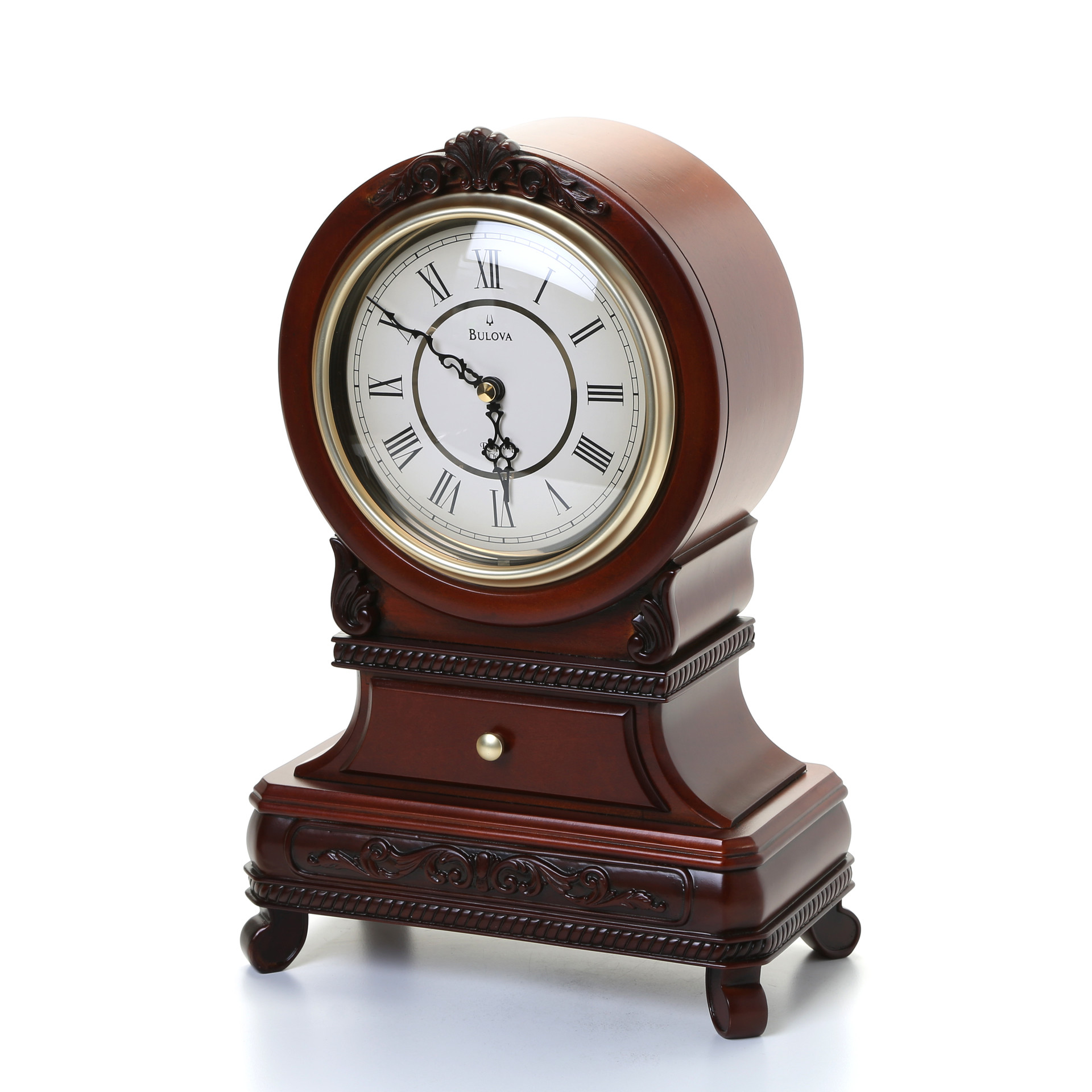 Glass Mantel Clocks | Bulova Mantel Clock | Bulova Mantel Clock Price