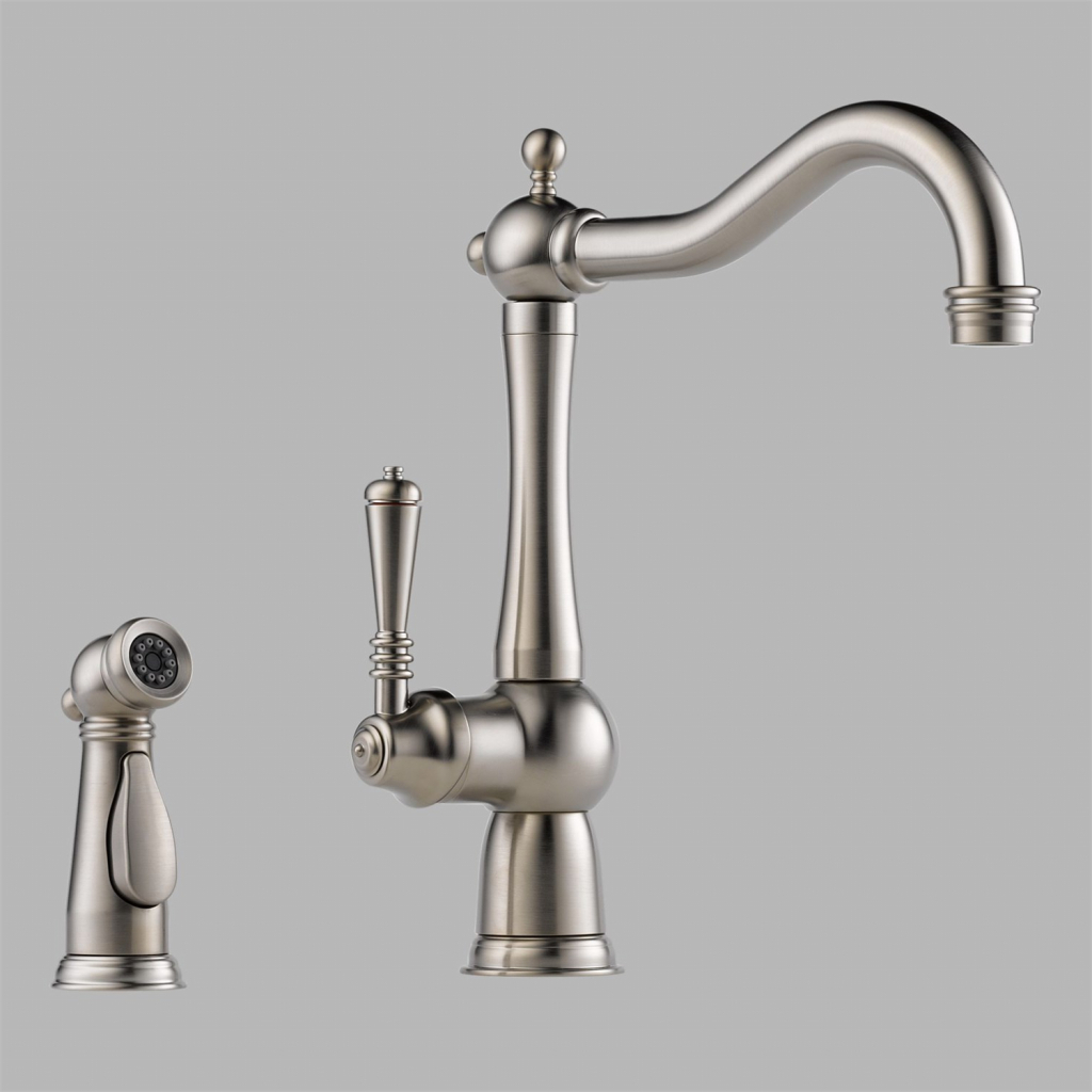 Contemporary Brizo Kitchen Faucets for Kitchen Decoration Ideas: Gold Kitchen Faucet | Brizo Kitchen Faucets | Jason Wu Faucet