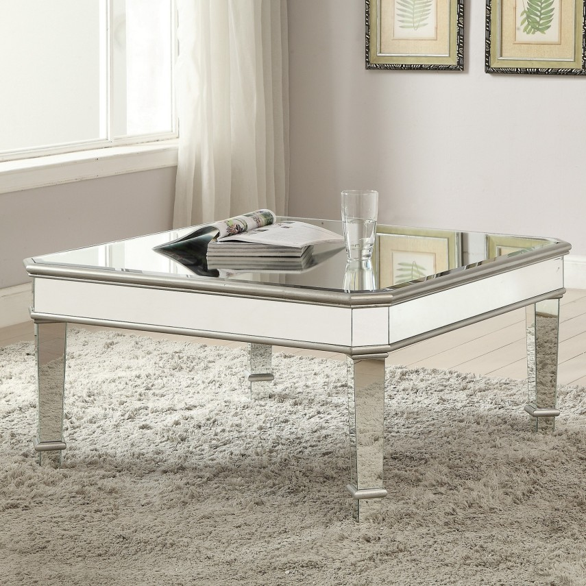 Gold Marble Coffee Table | Mirrored Coffee Tables | Mirrored Coffee Table