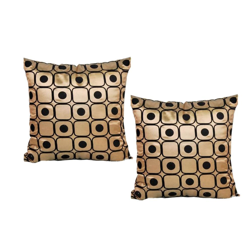Gold Throw Pillows | Decorative Pillow Covers 18x18 | West Elm Pillows