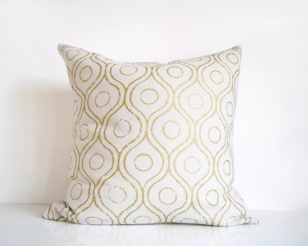 Gold Throw Pillows | Macys Pillows | Gold Sequin Pillow