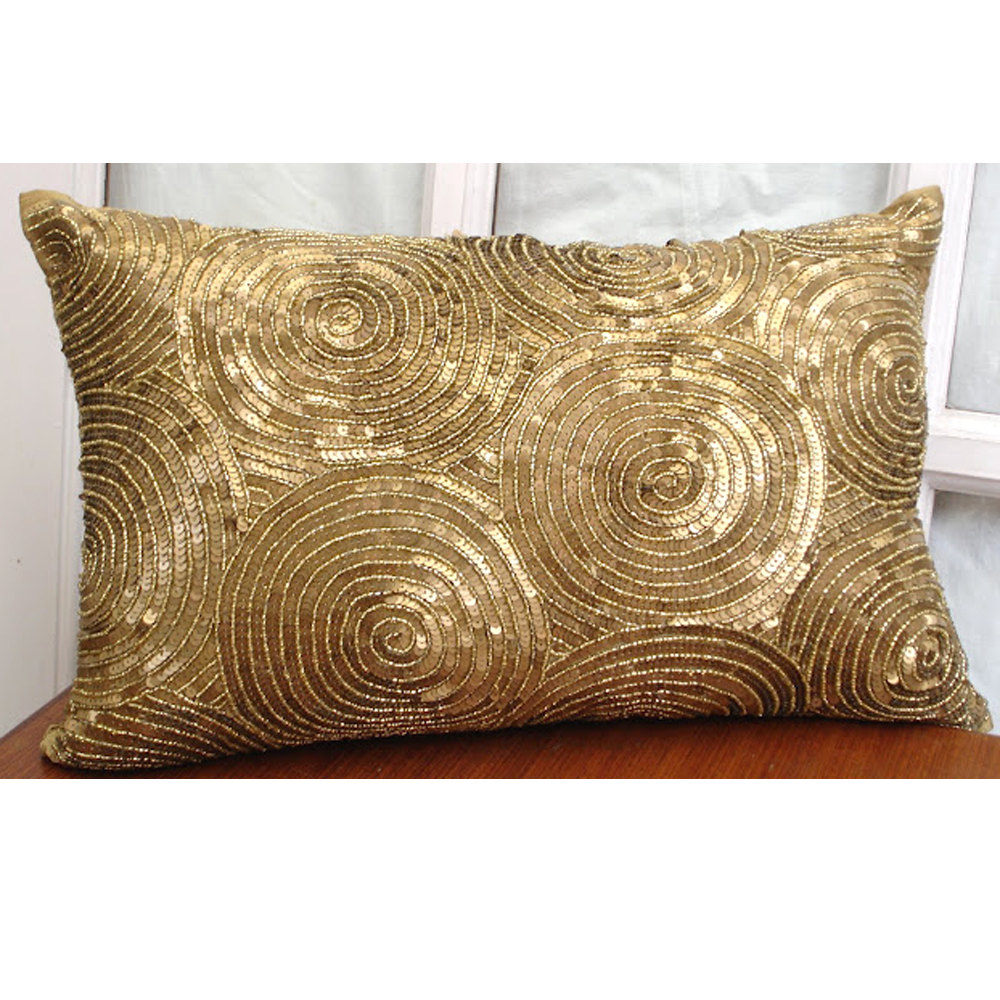 Gold Throw Pillows | West Elm Throw | Turquoise Throw Pillows