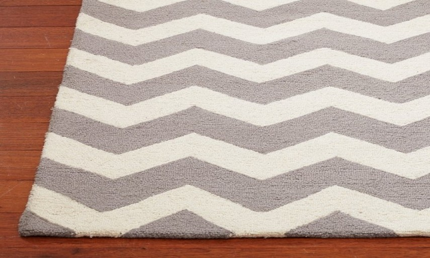 Gray And White Chevron Area Rug | Chevron Rug | Ballard Designs Outdoor Rugs