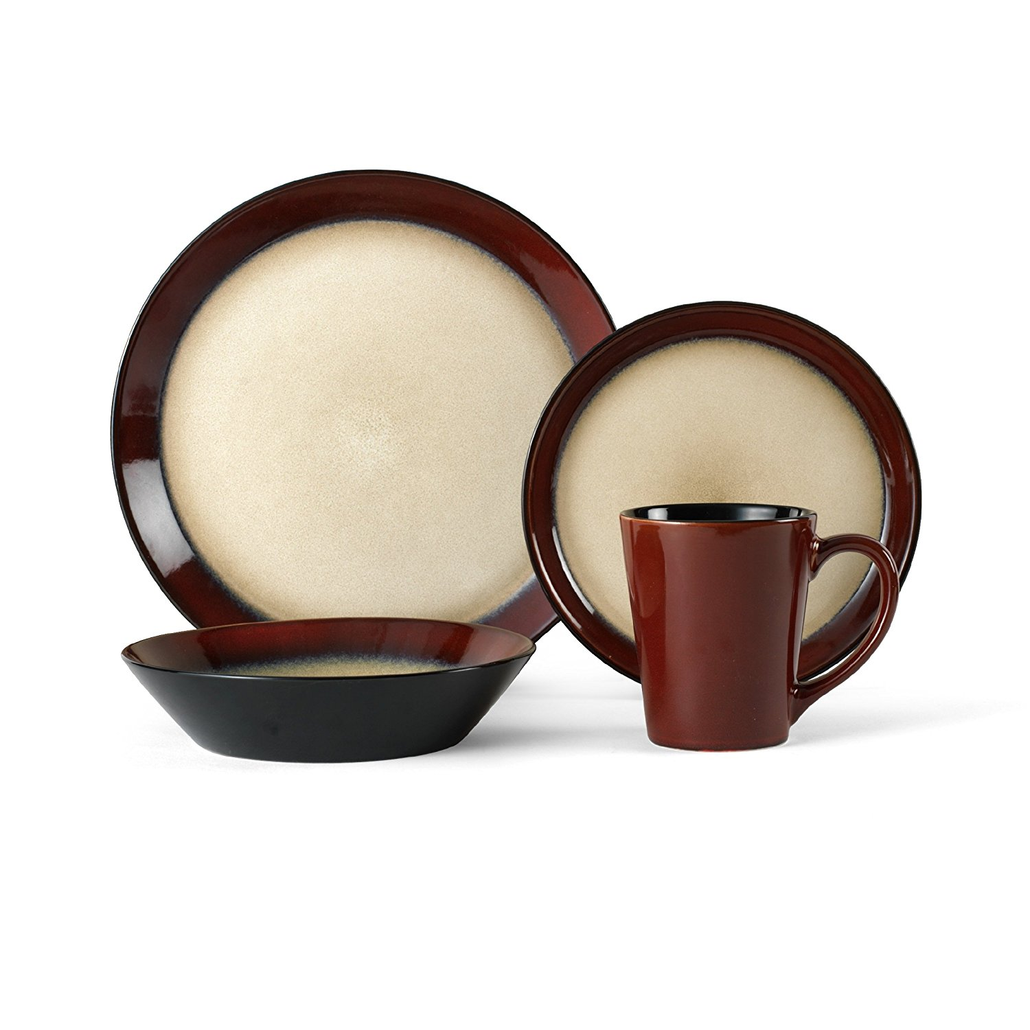 Green Stoneware Dinnerware Sets | Mikasa Dinnerware | Stoneware Dinnerware Sets