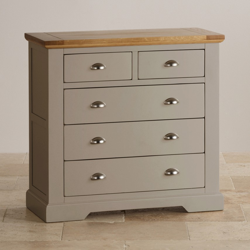 Grey Chest Of Drawers | Drawer Chest | Tan Dresser