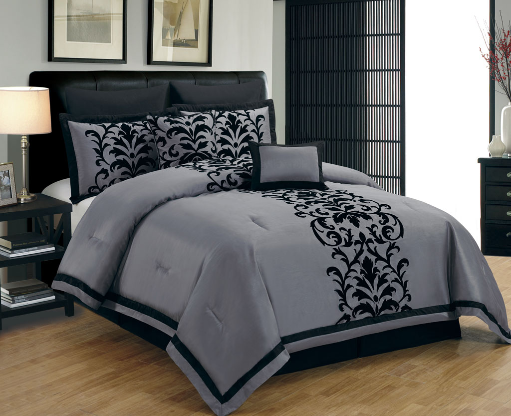Grey Comforters | Kids Comforters | Queen Size Bedding Sets