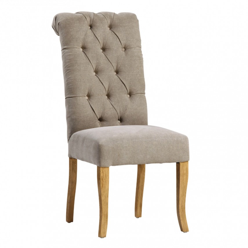 Grey Leather Dining Chairs | Tufted Dining Chair | Slipcovers For Dining Chairs