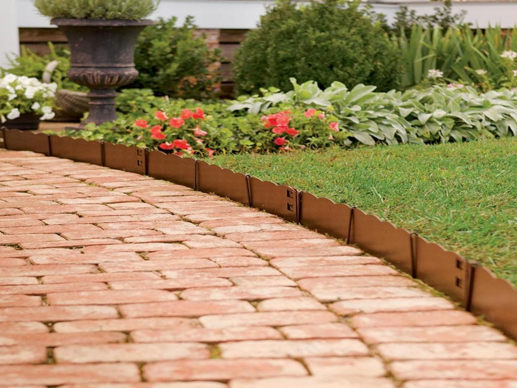Decor Cheap Landscape Border Landscape Edging Ideas