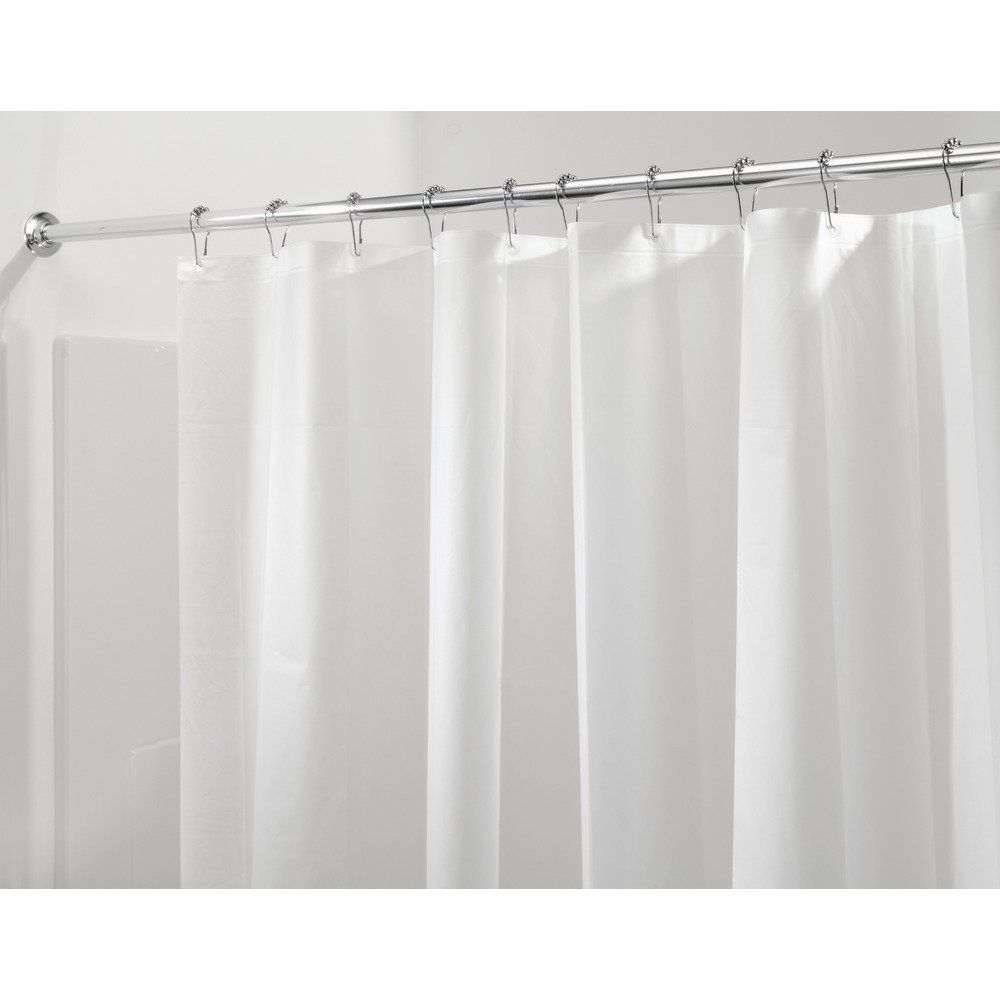 Hookless Shower Curtain Liner Replacement | How to Clean Shower Curtain Liner | Shower Curtain Liner
