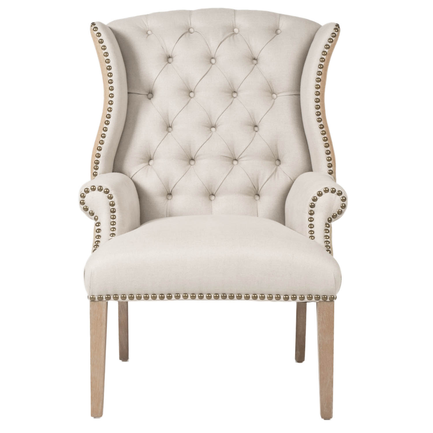 How to Make A Tufted Chair | Tufted Chair | Tufted Blue Chair