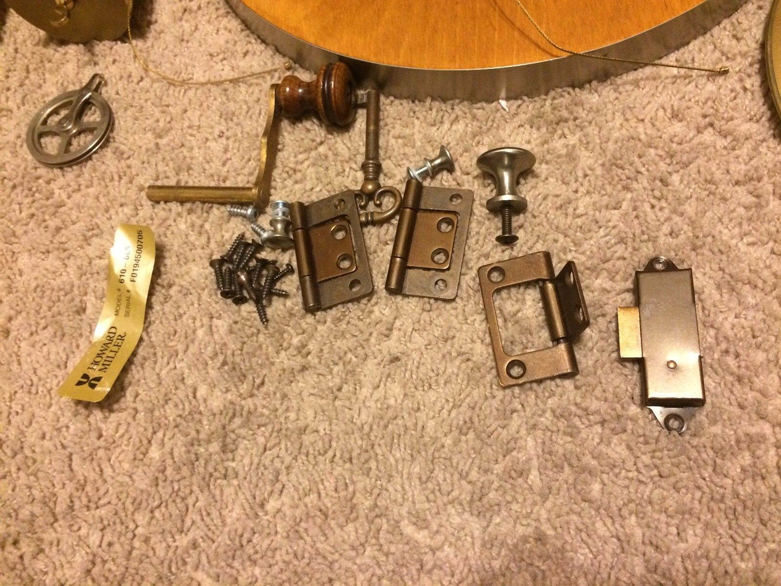 Cool Howard Miller Clock Parts for Repairing Clock Part: Howard Miller Clock Parts | Howard Miller Large Wall Clocks | Ridgeway Grandfather Clock Parts