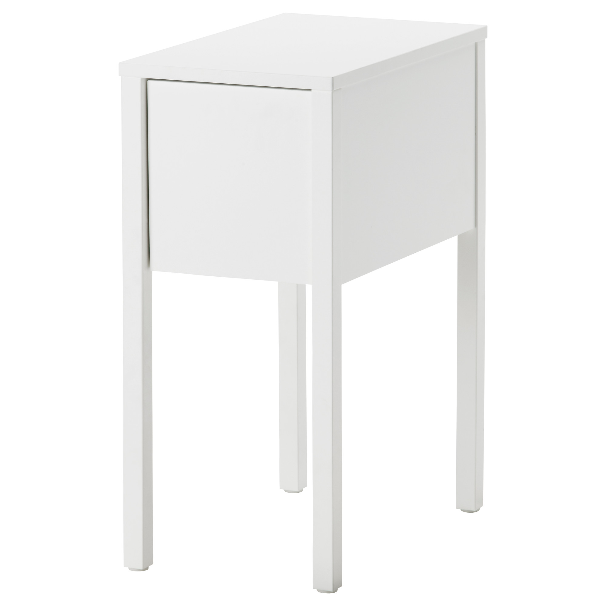 Bedroom appealing narrow nightstand for bedroom furniture for Narrow end table ikea