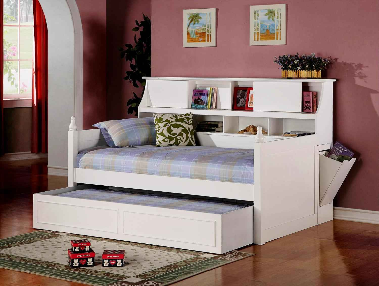 Ikea Pull Out Bed | Full Daybed | Wood Daybed with Trundle