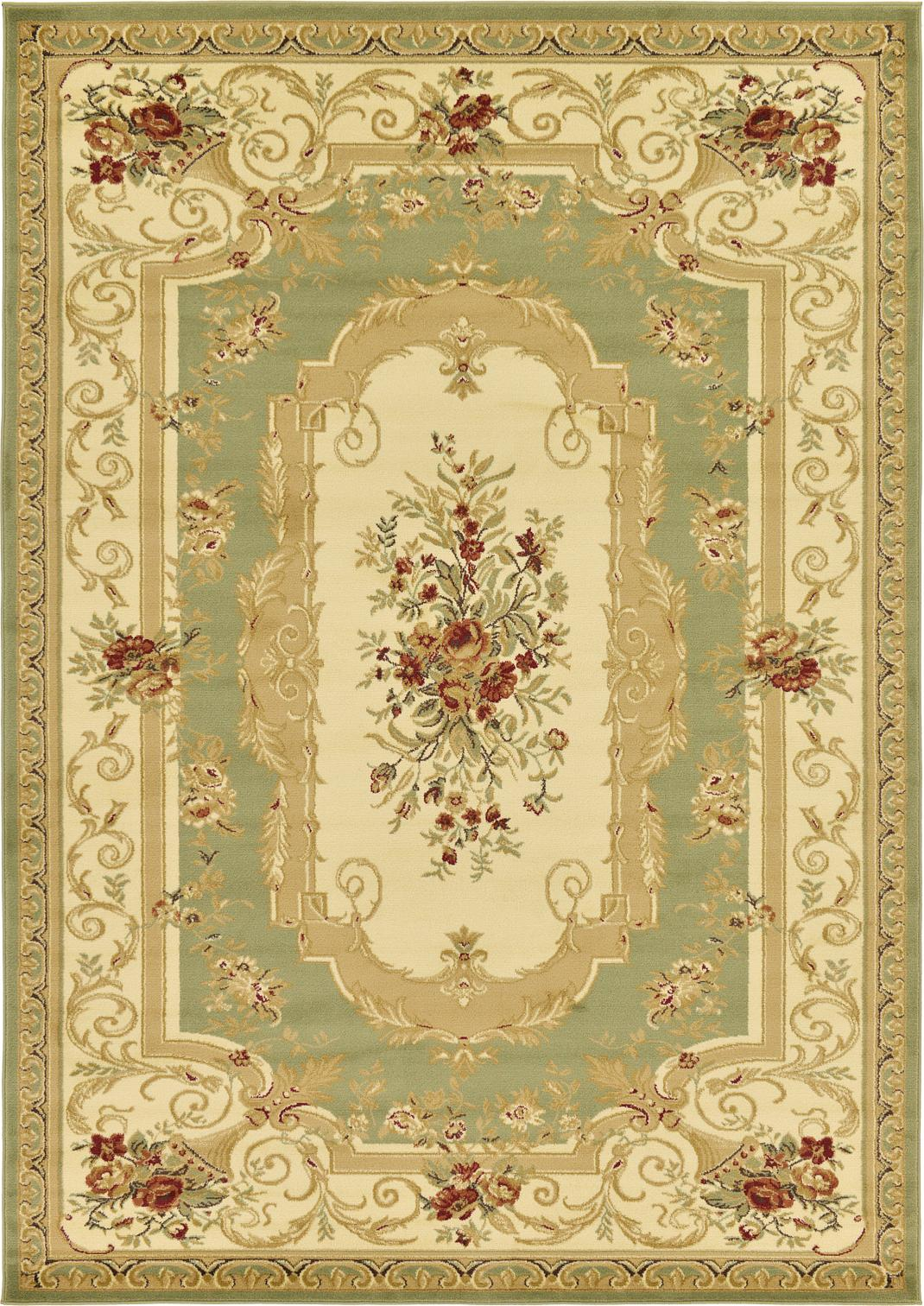 Immaculate Aubusson Area Rugs | Pretty Aubusson Rugs Idea