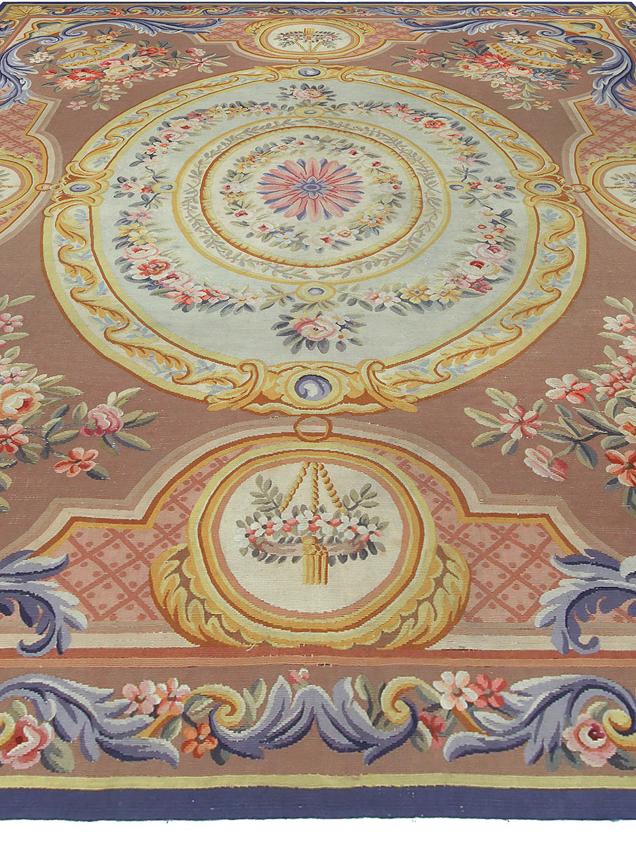 Immaculate Aubusson Rugs | Exquisite Aubusson Area Rugs
