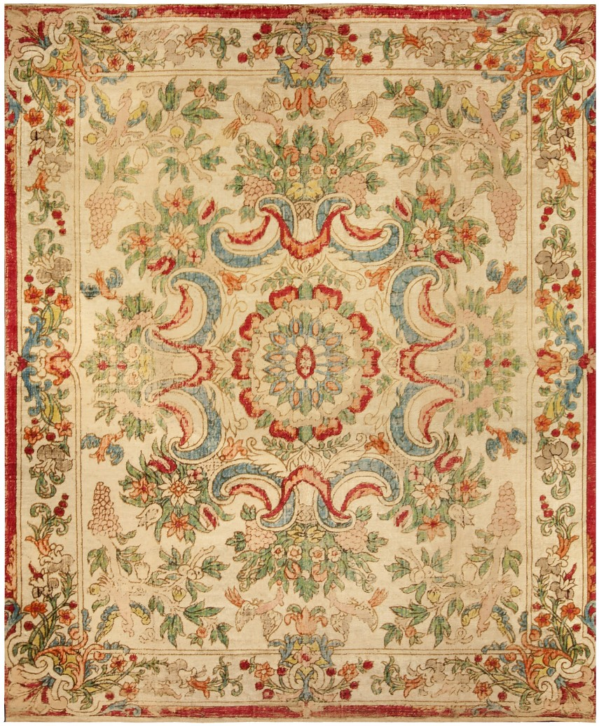 Impressive French Aubusson | Enchanting Aubusson Rugs