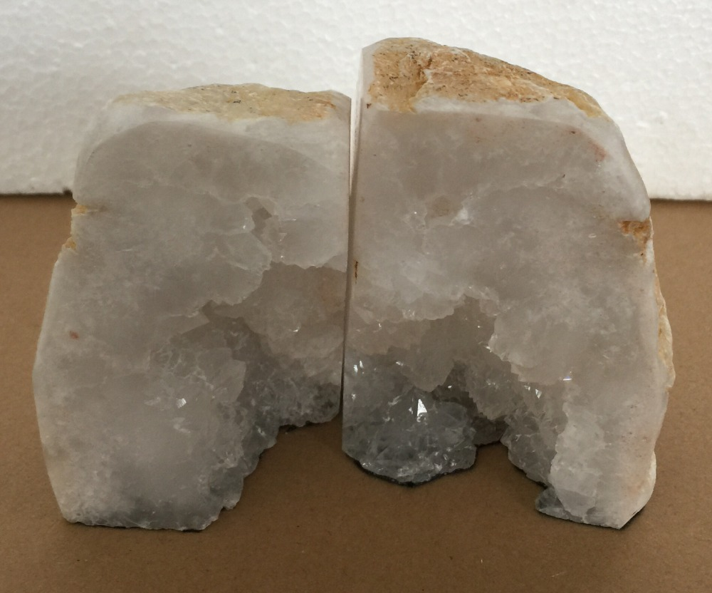 Incredible Geode Bookends | Lovable Geode Bookends Discount