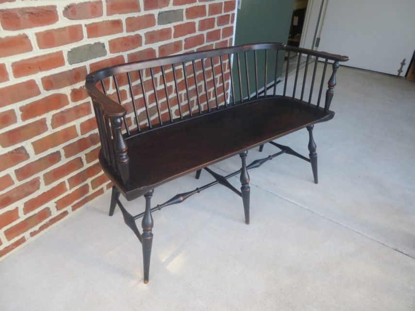 Interesting Horchow Sofa | Appealing Old Hickory Tannery