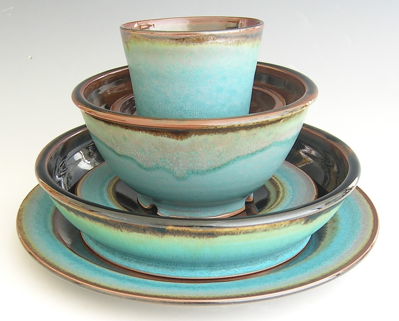 Italian Dinnerware Sets | Colorful Dinnerware Sets | Stoneware Dinnerware Sets