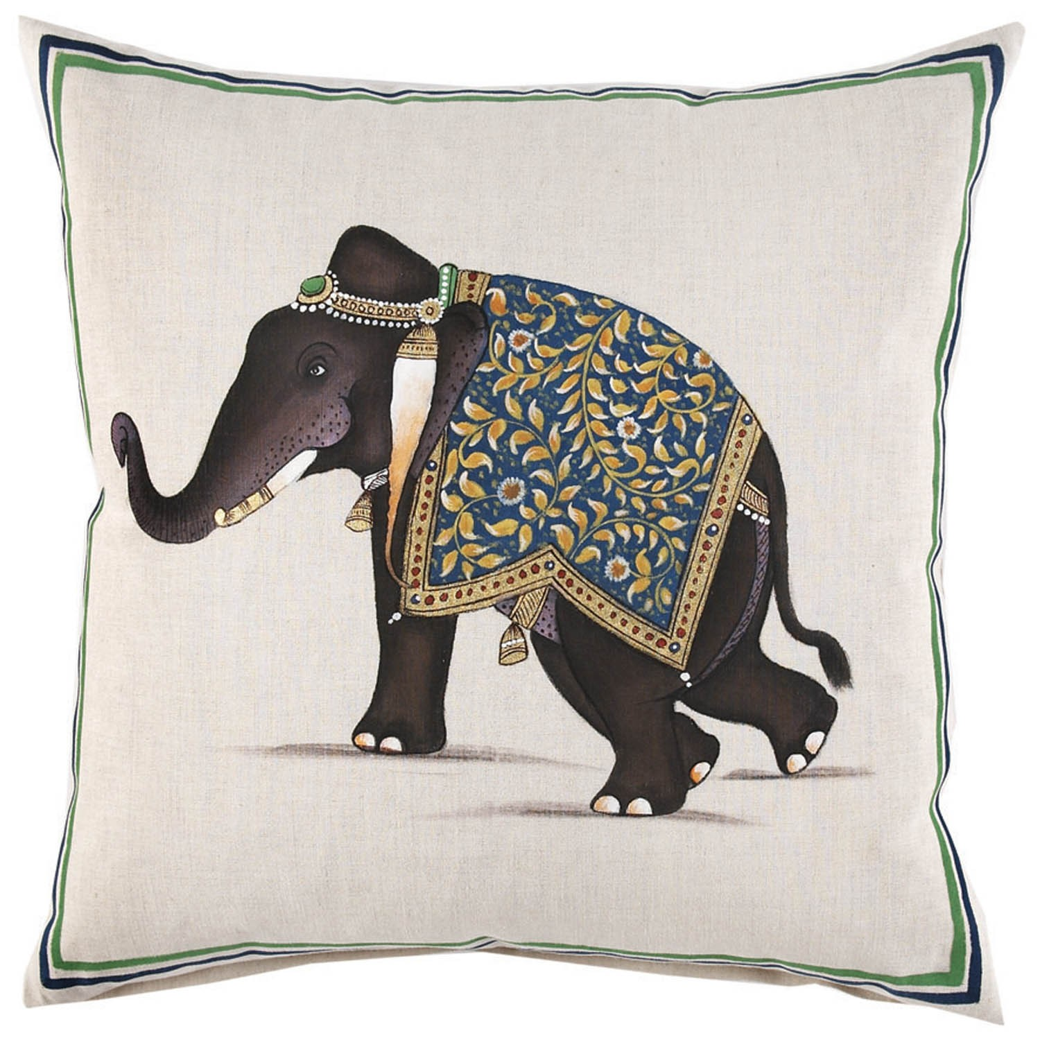 Amusing John Robshaw Pillows for Living Room Accessories Ideas: John Robshaw Furniture | John Robshaw Pillows | Indian Print Quilts