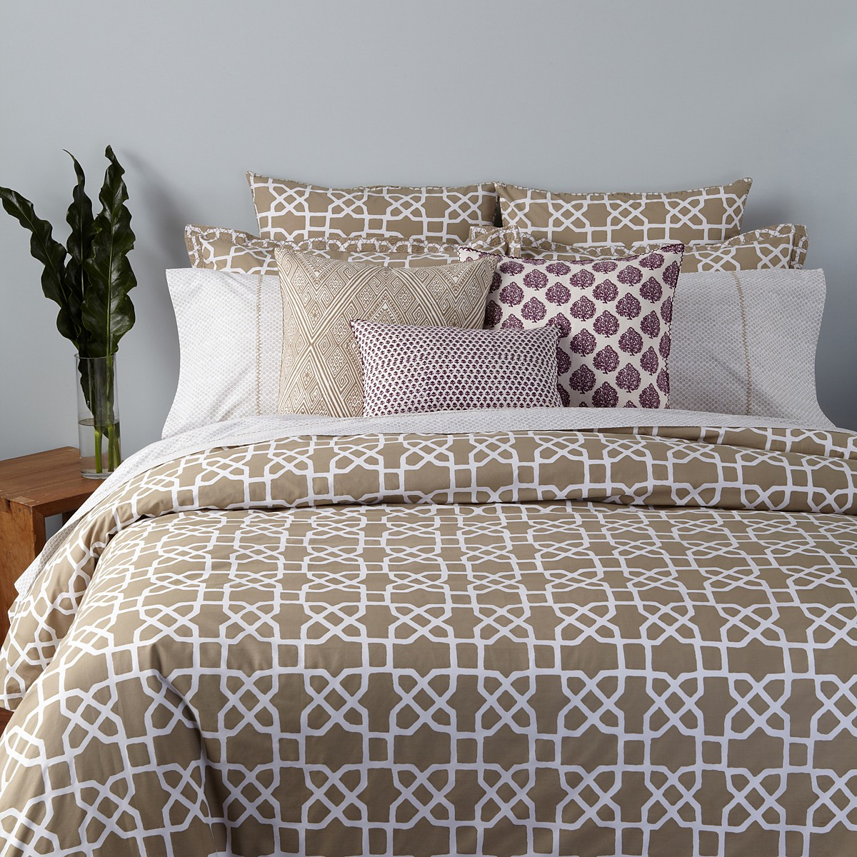 John Robshaw Lapis Quilt | Duralee Pillows | John Robshaw Pillows