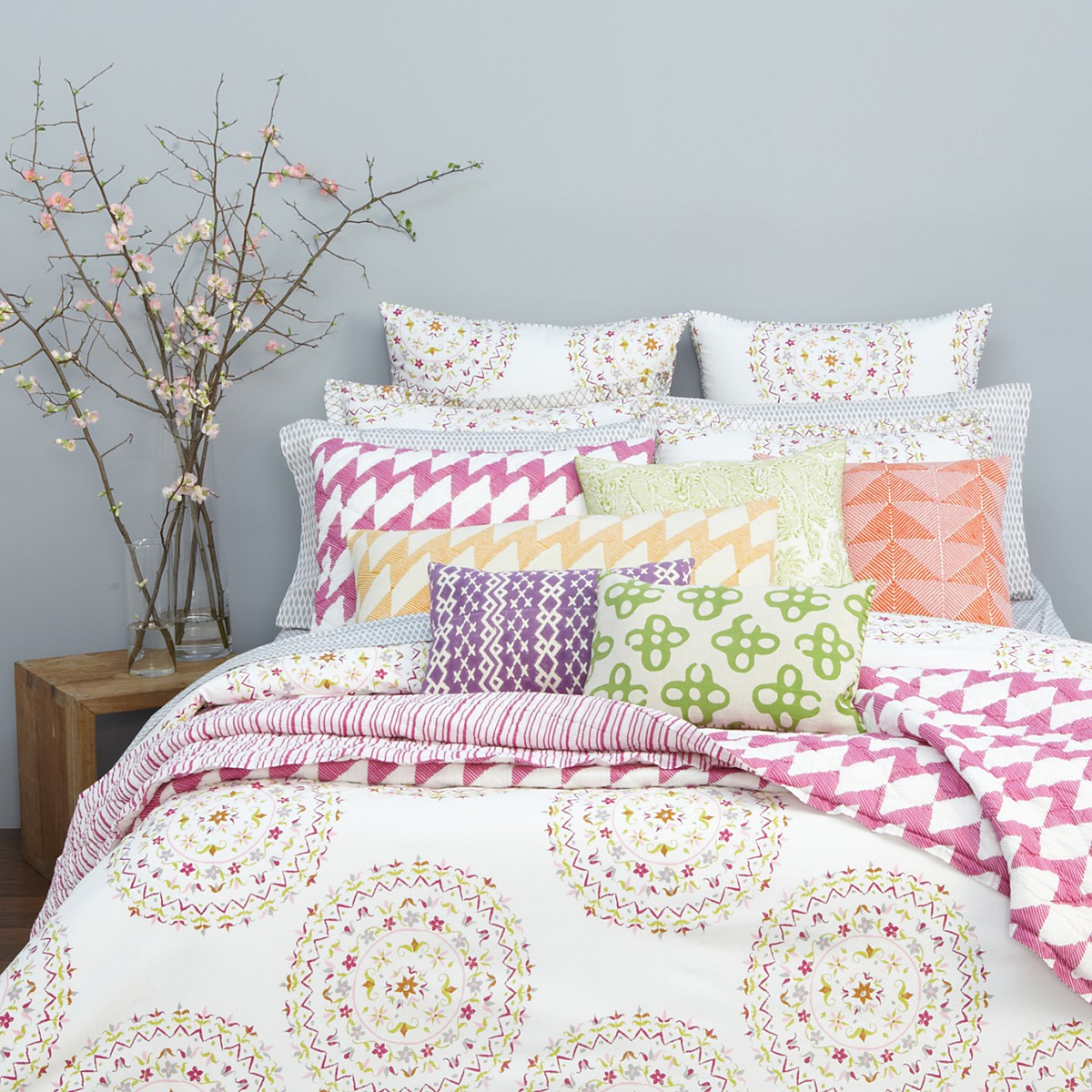 John Robshaw Pillows | John Robshaw Sale Bedding | John Robshaw Fabric By The Yard